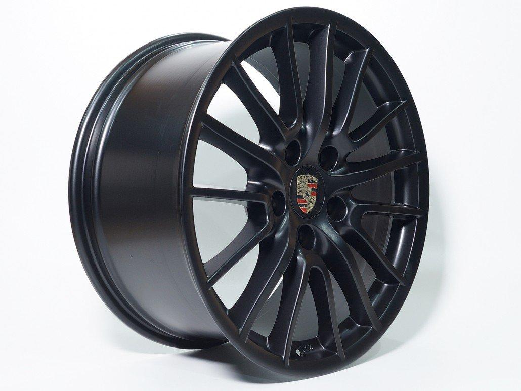 Schwarz Matt Ral 9005 Mainhattan Wheels