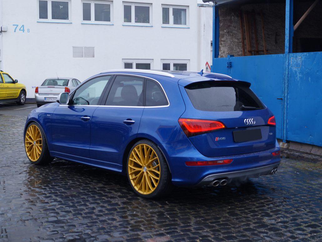 Audi Sq5 Mit 22 Quot Etabeta Piuma H Amp R Gewinde Mainhattan