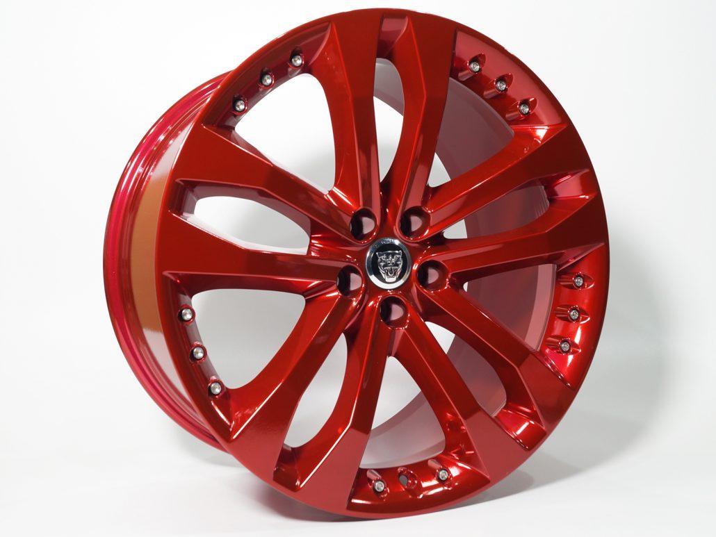 pulverlackfarbtrend candy red hochglanz mainhattan wheels. Black Bedroom Furniture Sets. Home Design Ideas