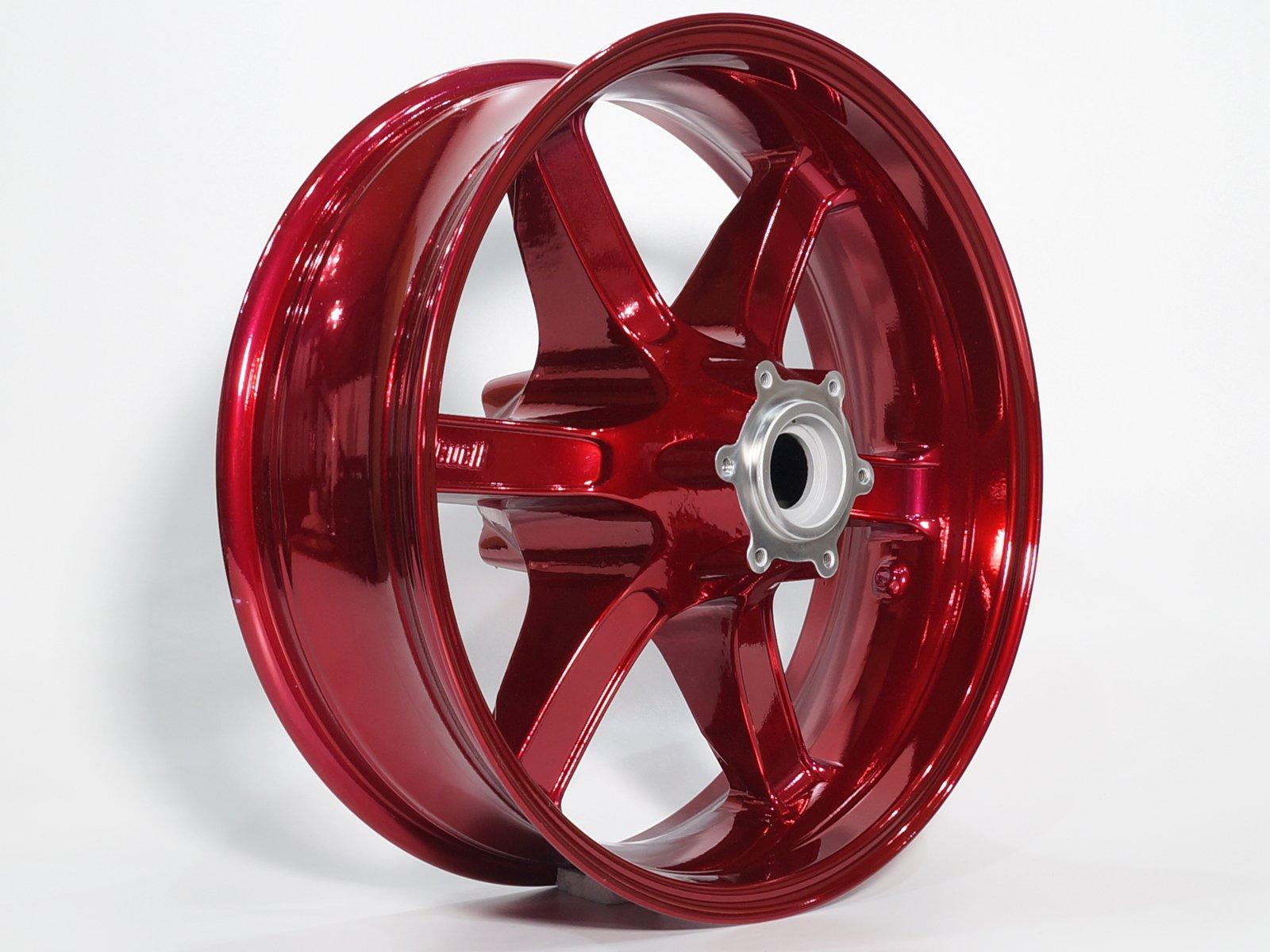 pulverlack farbtrend red candy hochglanz mainhattan wheels. Black Bedroom Furniture Sets. Home Design Ideas