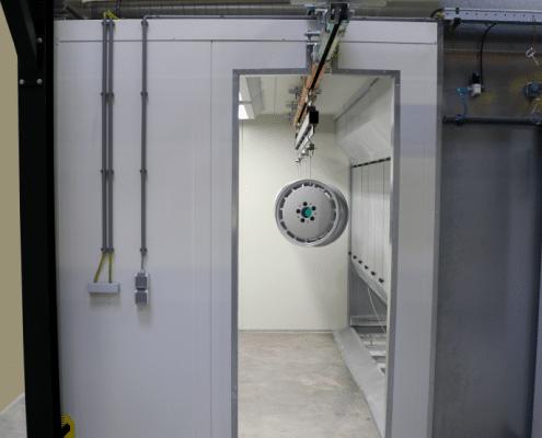 Pulverbeschichtungsanlagen für Felgen - Beispielanlage