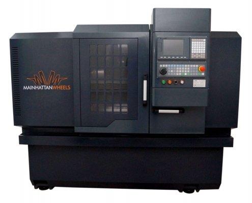 CNC-Maschine Grey Edition MW-28H zum Felgen Glanzdrehen Ansicht 1