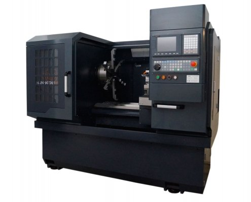 CNC-Maschine Grey Edition MW-28H zum Felgen Glanzdrehen Ansicht 3
