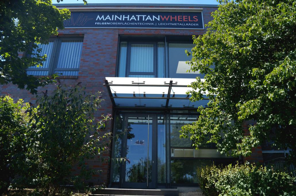 Mainhattan-Wheels Standort Dietzenbach - Eingangsbereich