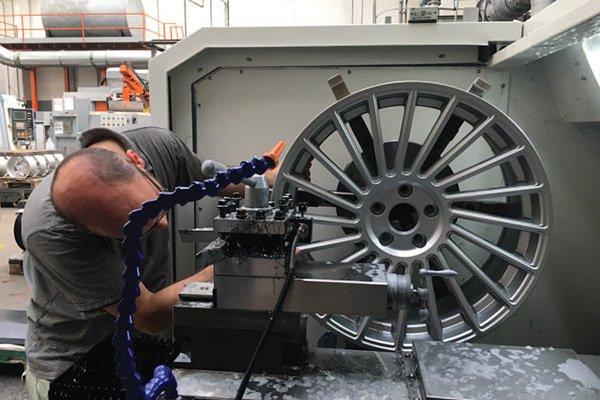 After-CNC Maschinen Felgen Glanzdrehen Felgenherstellung