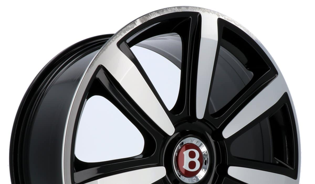 Before-Bentley Alufelge