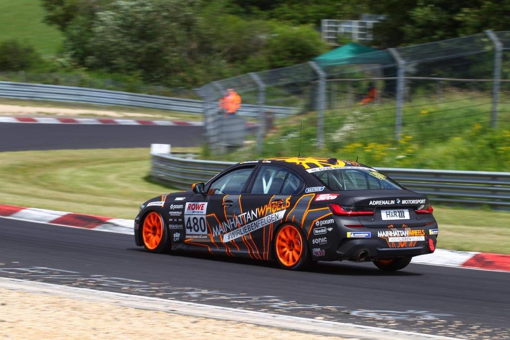 Nürburgring BMW 330i G20-9