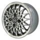 Opel BBS Silber CNC-Glanzdrehen